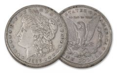 1886-S Morgan Silver Dollar XF