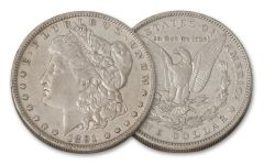 1891-O Morgan Silver Dollar XF