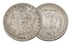 1896-S Morgan Silver Dollar VF