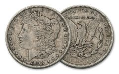 1898-S Morgan Silver Dollar VF