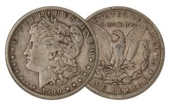 1900-S Morgan Silver Dollar XF