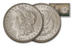 1881-O 1 Dollar Morgan Steamboat BU