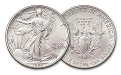 1988 1 Dollar 1-oz Silver Eagle BU