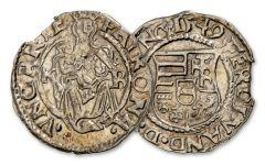 1540-1590 Hungary Silver Madonna & Child