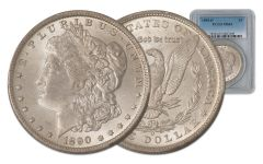 1890-O Morgan Silver Dollar PCGS/NGC MS63