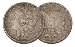 1878-S Morgan Silver Dollar VF