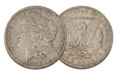 1886-O Morgan Silver Dollar VF