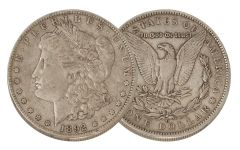 1892-O Morgan Silver Dollar VF