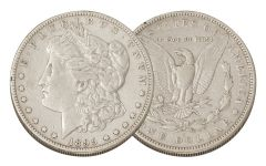 1895-S Morgan Silver Dollar VF
