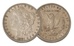 1881-S Morgan Silver Dollar XF