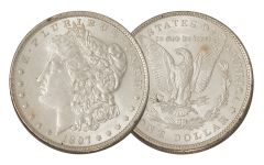 1897-P Morgan Silver Dollar AU