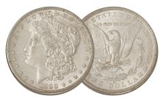 1898-S Morgan Silver Dollar AU