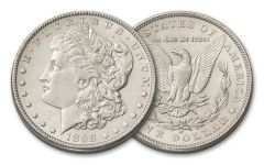 1899-O Morgan Silver Dollar AU