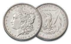 1899-S Morgan Silver Dollar AU