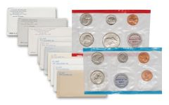 1970-1979 U.S. Mint Set 10-Pc Collection
