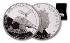 2018 Australia $1 1-oz Silver Wedge-Tailed Eagle Proof