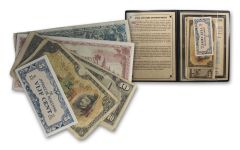 1931-1944 Japanese Invasion Currency 5-Note Collection