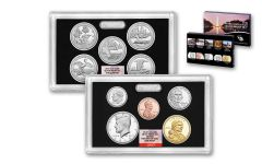2018-S United States Silver Proof Set NGC GEM First Day Of Issue