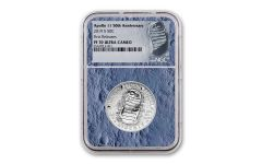 2019-S Apollo 11 50th Anniversary Clad Half Dollar NGC PF70UC First Releases - Moon Core with Mission Patch