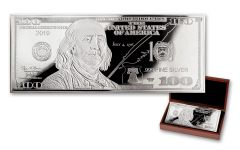 2019 100 Dollar 1-oz Silver Currency Proof