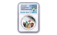 2019 Tuvalu $1 1-oz Wizard of Oz™ 80th Anniversary NGC PF69UC - Pacific Rim Label