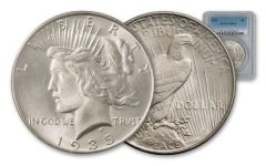 1935-P Peace Silver Dollar NGC/PCGS MS64