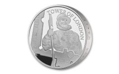 2019 Great Britain £5 Silver Tower of London Yeoman Warders Piedfort Proof
