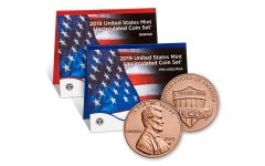 2019-P-D United States Mint Set + 2019-W Lincoln Cent Uncirculated