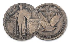1927-D Standing Liberty Quarter VG