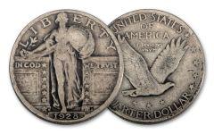 1928-D Standing Liberty Quarter VG