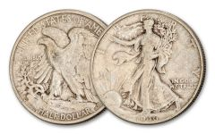 1946-D 50 CENTS WALKING LIBERTY VF
