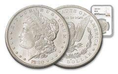 1880-S Morgan Silver Dollar NGC/PCGS MS64