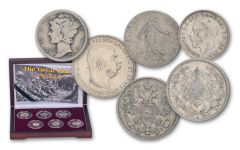 Silver Coins of The Great War 6-pc Set