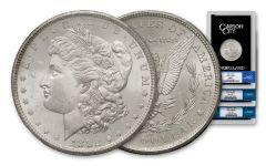 1882–1884-CC Morgan Silver Dollar NGC MS63 GSA 3-pc Set