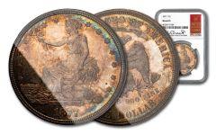 1877-P $1 TRADE NGC-MS64 PL BRESSETT