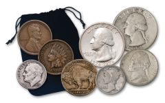 1900-1976 Coin Collecting 8-pc Starter Kit