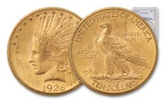1908-1932 $10 Gold Indian NGC/PCGS MS63
