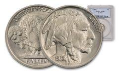 1938-D Buffalo Nickel NGC/PCGS MS66