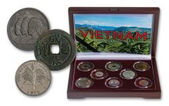 18th Century–2003 Vietnam 8-pc Coin Set