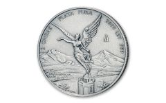 2019-MO Mexico 2-oz Silver Libertad Antiqued BU