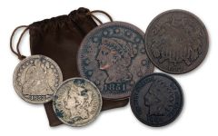 1816–1891 Wild West Saddlebag 5-pc Collection