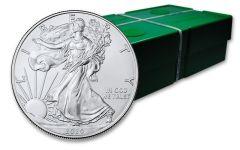 2020 $1 1-oz Silver Eagle BU 500-Coin Monster Box