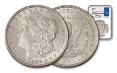 1888-O Morgan Silver Dollar Great Southern Treasury Hoard NGC MS63 w/Moy Signature