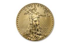 2020 $25 1/2 OZ GOLD EAGLE BU