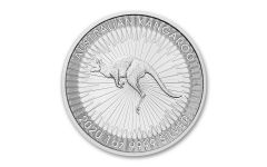 2020 Australia $1 1-oz Silver Kangaroo BU
