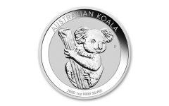 2020 Australia $1 1-oz Silver Koala BU