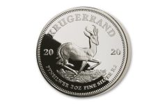 SA 2020 2OZ SILVER KRUGERRAND PROOF