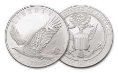 2008-P $1 BALD EAGLE COMMEMORATIVE BU