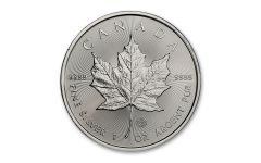 2020 Canada $5 1-oz Silver Maple Leaf Gem BU