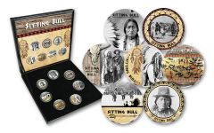 Sitting Bull Cold Enamel 7-pc Collection